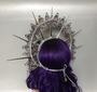 The headdress is based upon headband and has ribbons for additional fixation.