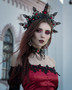 IG Model:  @cyanide_red_model   Ph:  @cyanide_red_photography Assistant:  @peresk0pe Headdress: @mywitchery