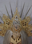 Salome's golden crystal crown for burlesque show