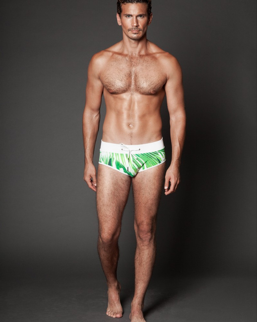 Tropical Swim Briefs