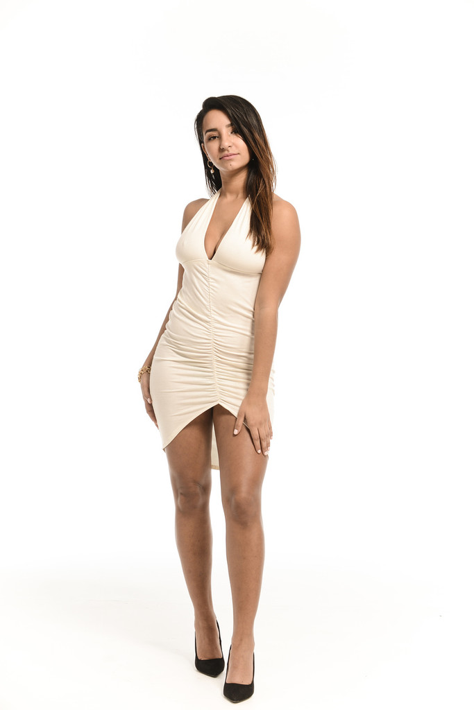 SALE! Deep Vengeance White Dress
