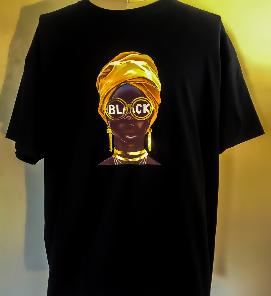 FH black queen men's t-shirt