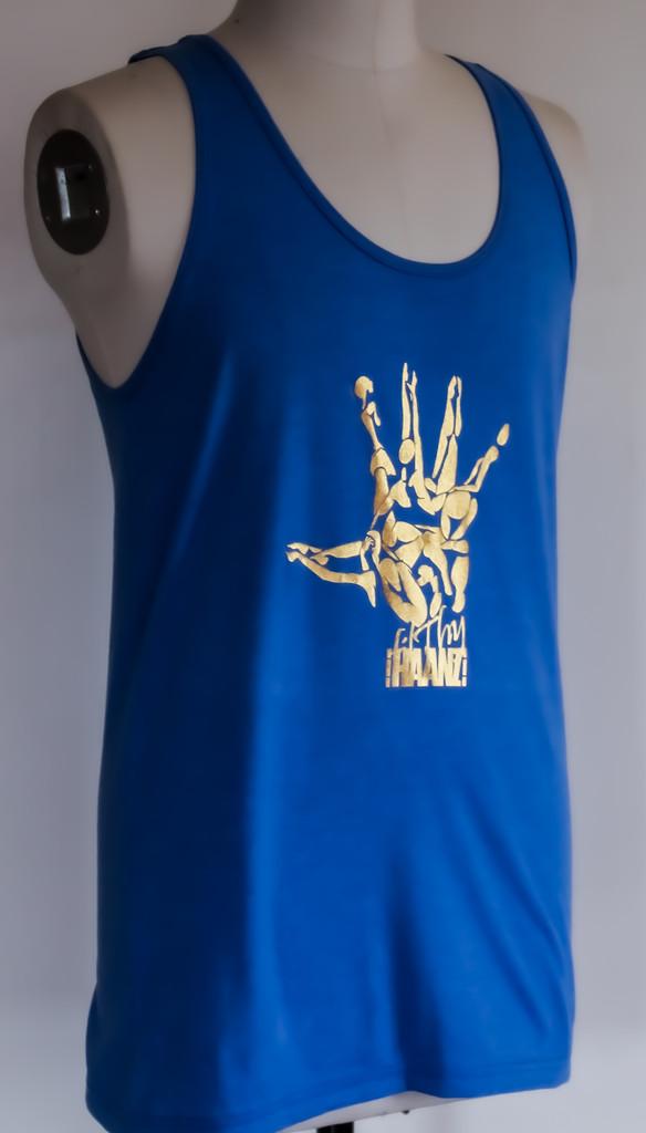 FH wear royal blue tank top