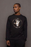Mens Gold Logo Sweatshirt