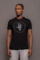 Mens Crew Neck Logo Tshirt