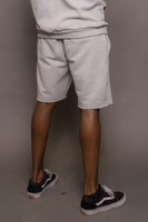 Grey Mens Jogging Shorts
