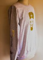 FH wear Nefertiti  light grey crewneck sweater