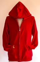 FH wear zip red hoodie