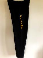 FH Wear design black joggers