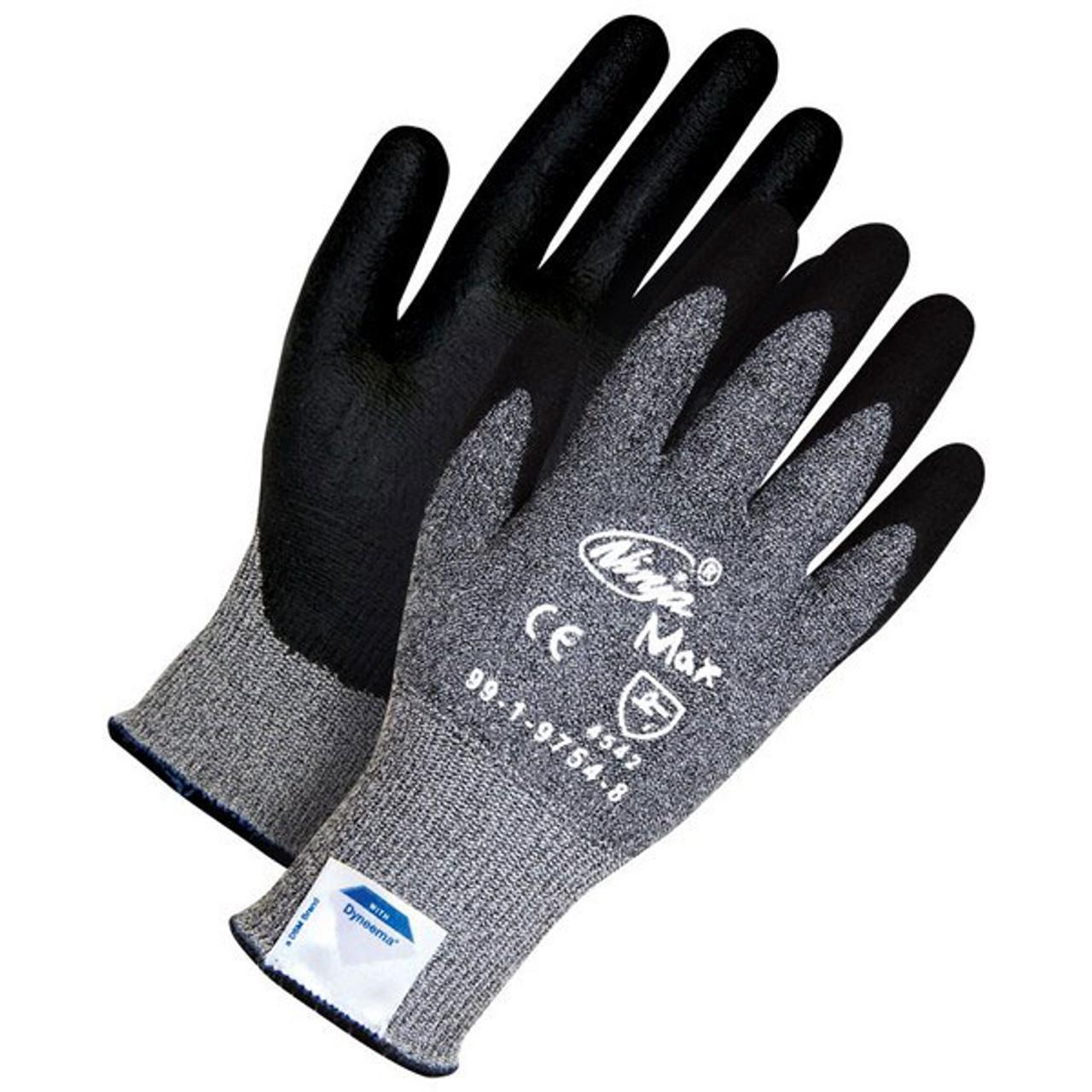 Ninja Max Coated Cut-Resistant Gloves | CE, ANSI | BDG Gloves