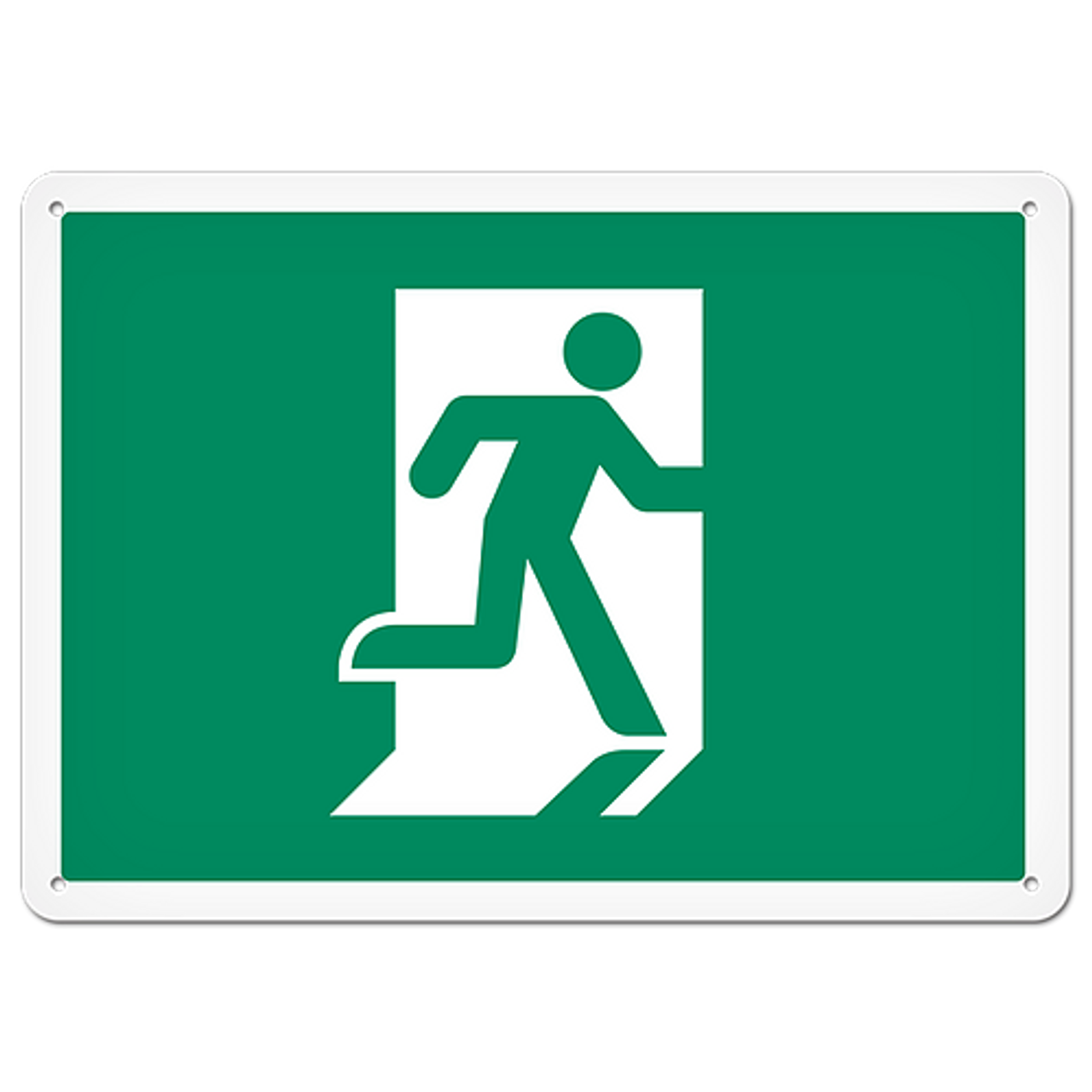 Fire Signs Running Man Exit Sign Safety Supplies Canada