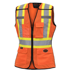 Women's Hi-Viz Safety Tear-Away Vest | Pioneer