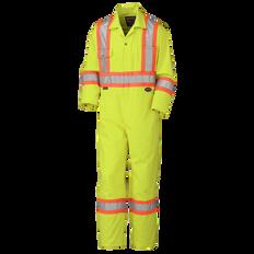 Hi-Viz Safety Poly/Cotton Coveralls | CSA Z96-15 Class 3 Level 2 | Pioneer