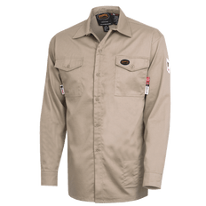FR-Tech® Flame Resistant 7 oz Safety Shirt | Pioneer