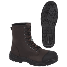 "Leather 8"" Work Boot 