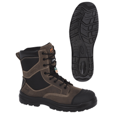 Composite Toe/Plate Metal-Free Leather Safety Work Boot | Pioneer