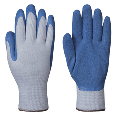 Seamless knit latex gloves - poly knit | Pioneer