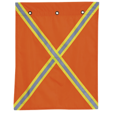 353 Traffic Flag With Tape | Pioneer