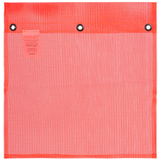 PE Mesh Flag with Grommets 16 X 16' | Pioneer