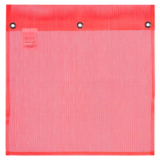 PE Mesh Flag with Grommets 18'' X 18''   Pioneer