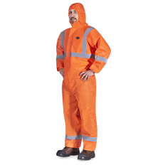 SMS Coverall with Reflective Tape | CSA Z96-15 Class 3 Level 2 | Pioneer