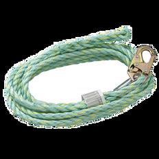 Vertical Lifeline - Snap Hook & Back Splice - 25' (7.6 m), VL-1125-25