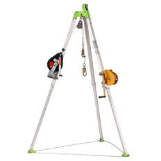 Confined Space Kit: Tripod, 3-Way 60' (18 m) SRL, 65' (20 m) Man Winch and Bag