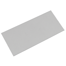 """Clear Cover/Impact Plate - 2""""H x 4-1/4""""W CR-39"""