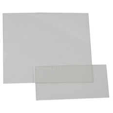 Clear Cover Plates (Front and Back Set) - For Sellstrom S26100