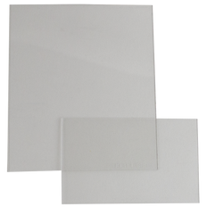 Clear Cover Plates (Front and Back Set) - For Sellstrom S26200
