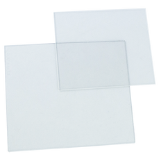 Clear Cover Plates (Front and Back Set) - For Sellstrom S26400