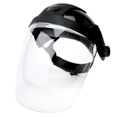 Standard Face Shield with Ratcheting Headgear