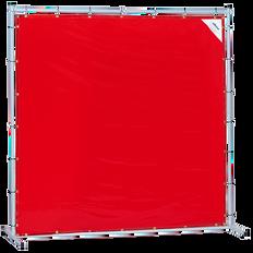 Sellstrom Welding Curtain with Frame - 6'x6' - Orange - S97330
