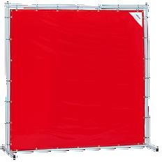 Sellstrom Welding Curtain with Frame - 6'x8' - Orange - S97333