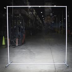 """Sellstrom Welding Curtain Frame - 7/8"""" Round Steel Tube - S97471"""