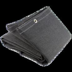 Welding Blanket - 25 oz Vermiculite Coated Fibreglass - 6'x8' - Black