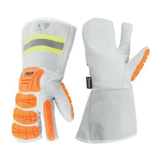 Platinum Winter Mitt, Impact Protection, w/C100 Thinsulate+Fleece | ANSI Cut 5 | Stout Gloves