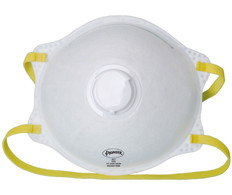 Cone-Shaped N95 Respirators with Valve - 2 Pkg - Pioneer - 355P