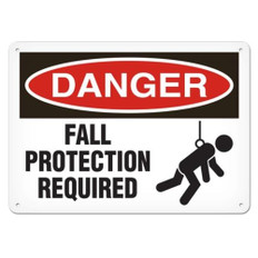 OSHA Safety Sign | Danger Fall Protection | Incom