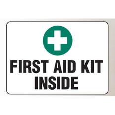 OSHA Safety Sign | First Aid Kit Inside | Incom