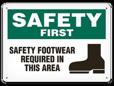 OSHA Safety Sign | Safety Safety Foot  | Incom