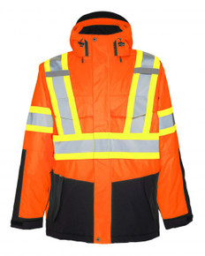 Heavy Insulated Hi-Vis Jacket | Projob