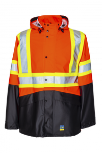 Hi-Vis Waterproof Jacket | Projob