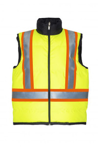 Hi-Vis Insulated & Reversible Vest  | Projob