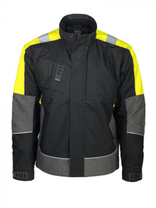 Insulated Jacket With Hi-Vis Shoulder | Projob