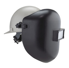 Dyna-Weld Black Thermoplastic Welding Helmet w/Clear Cover Plate | Class II | Dynamic
