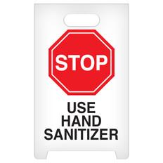 Stop Use Hand Sanitizer - A-Frame sign | INCOM