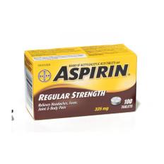 Aspirine Bayer 325mgm bottles/100 | Dynamic