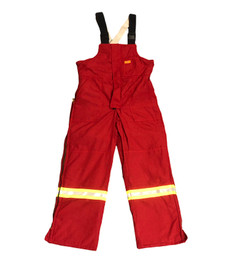 *BLOW OUT* RED FR INSULATED NOMEX BIB | FIREWALL