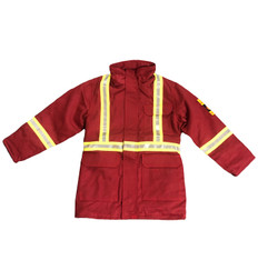 *BLOW OUT* RED FR INSULATED PARKA | FIREWALL